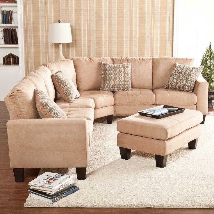 Ascot Mocha 4 Peice Sectional Sofa | Overstock.com Shopping   Big Discounts  On