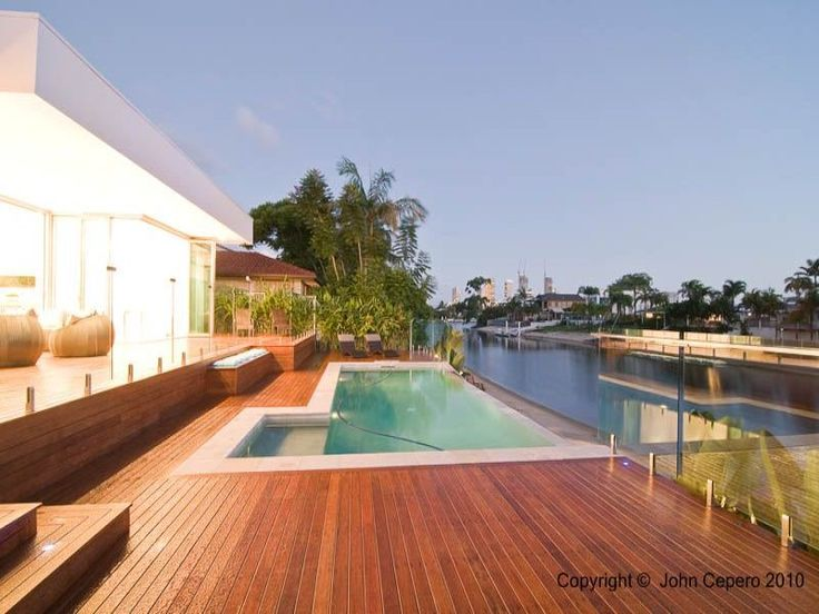 Photo of a geometric pool from a real Australian home - Pool photo 361312