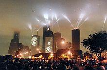 Jean Michel Jarre - Houston in concert 1986