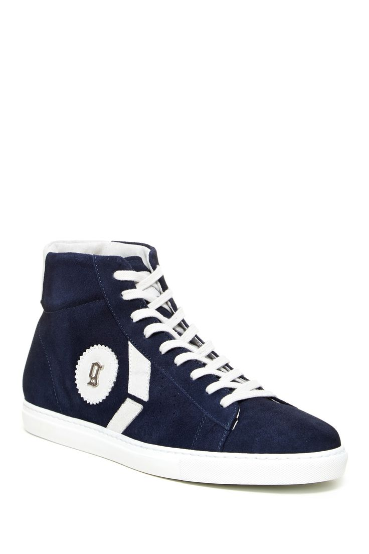 John Galliano High Top Lace-Up Sneaker save -51% today