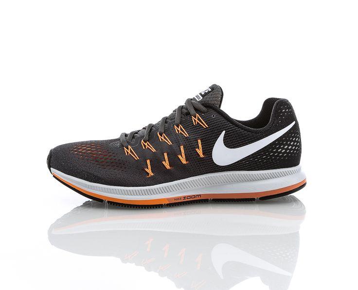 Nike - Air Zoom Pegasus 33   Löparskor   Grå/Orange   Sportamore.se
