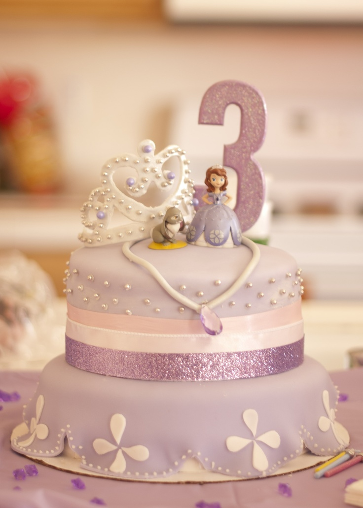 Sofia The First Cake Design Goldilocks : 17 Best ideas about Princess Sofia Cake on Pinterest ...