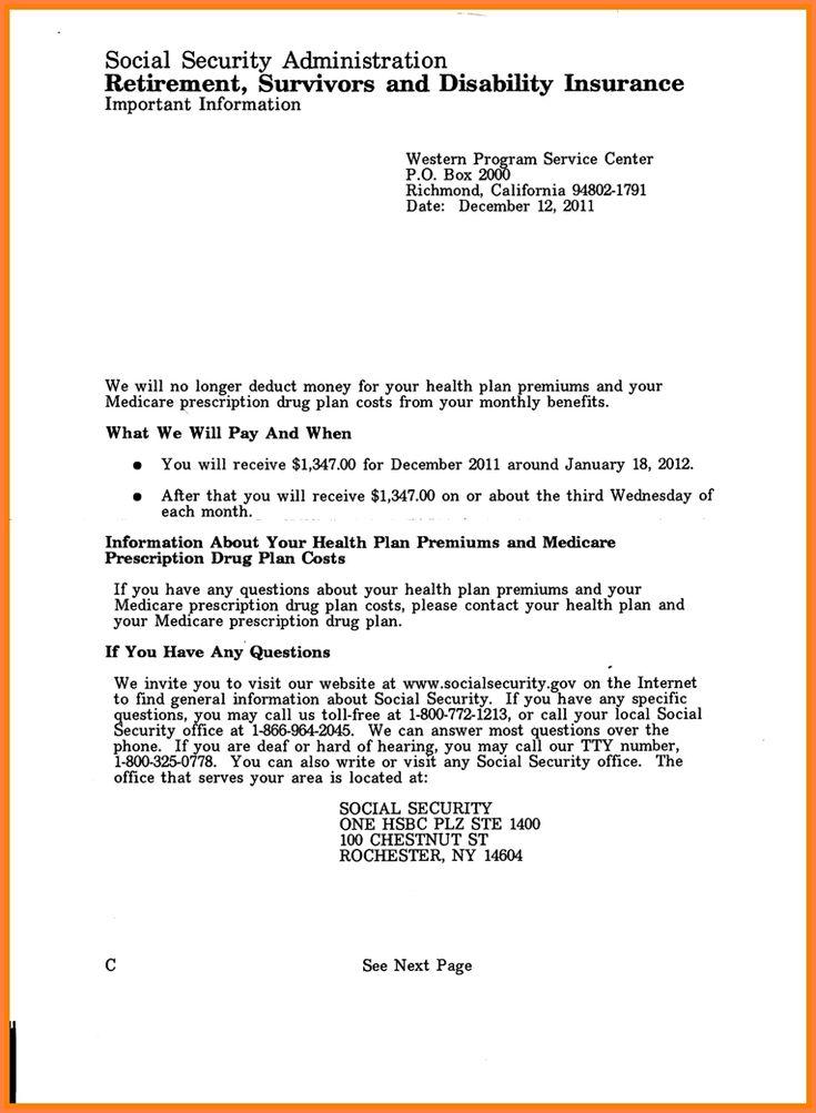 ssi award letter