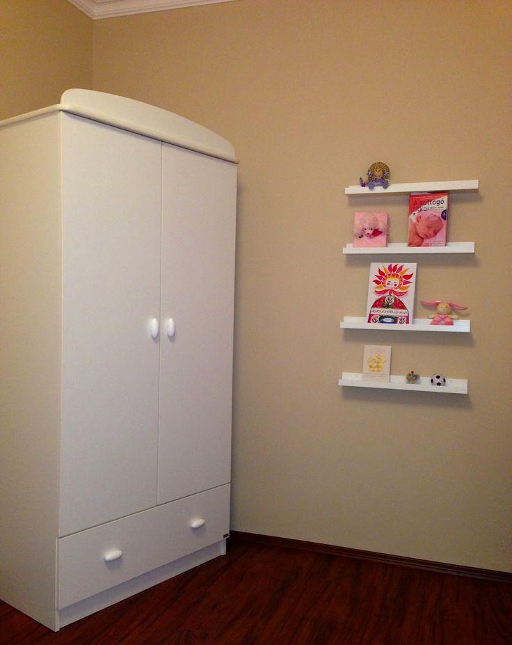 Faktum Mókus wihte wardrobe with 2 doors / Mókus fehér 2 ajtós szekrény