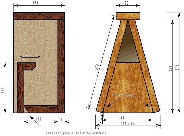 18 best plant de nichoire images on pinterest birdhouses woodwind instrument and cabins. Black Bedroom Furniture Sets. Home Design Ideas
