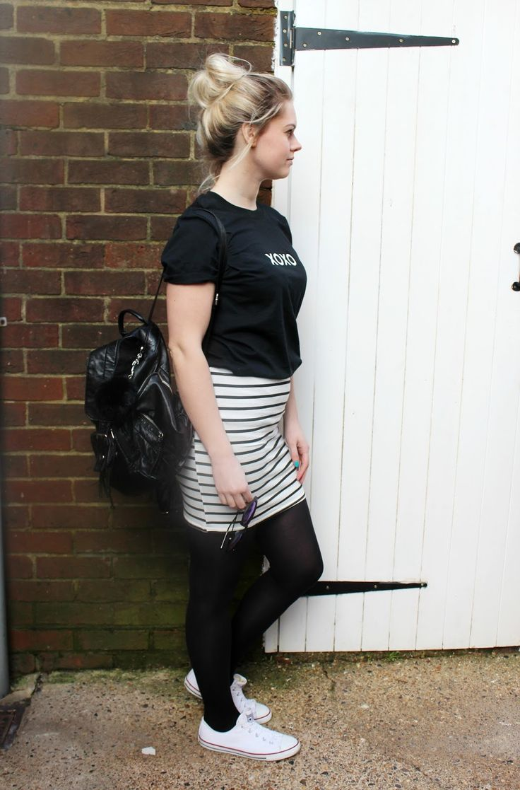 Monochrome Style - Outfit Of The Day