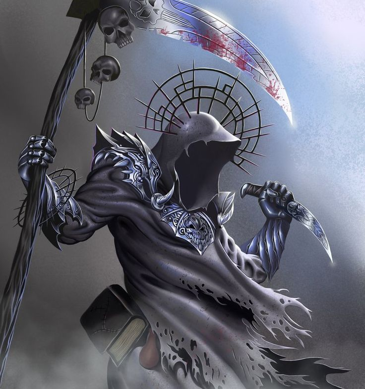 Necromancer by malverro.deviantart.com on @deviantART