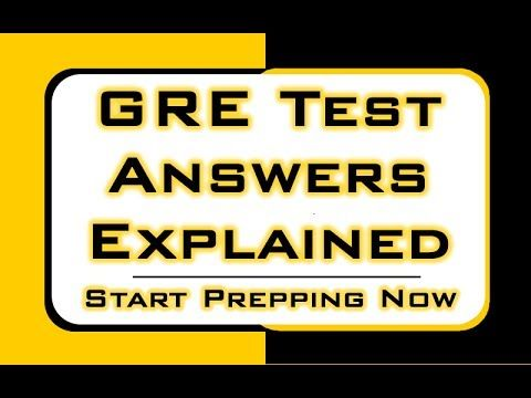 http://www.gresecrets.com  GRE test answers explained.  Take advantage of practice tests, and helpful study techniques to achieve your goal of getting a great score on your GRE exam!  #gre #mometrix