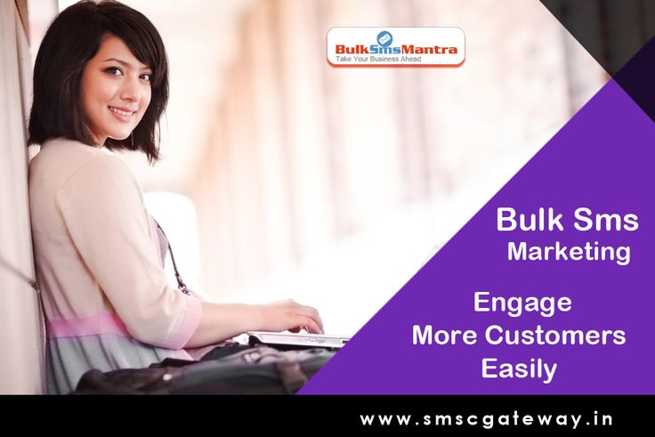 Bulk SMS or text marketing has applications in just about every industry. It gives you an efficient way to reach your clients, customers and prospects.http://www.bulksmsmantra.com/