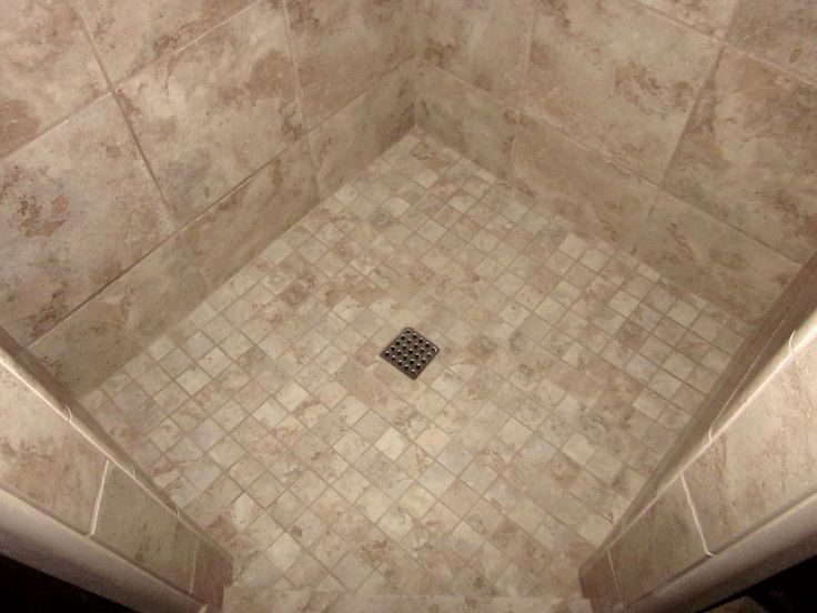 Shower Floor Tiles Which Why And How: 13 Best Images About Custom Tile Bathroom On Pinterest