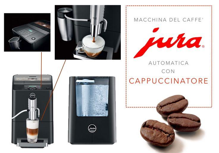 JURA macchina automatica con cappuccinatore 15029 - Ena Micro 8 OT  #cucina#macchinaperilcaffè#coffee #caffè #cappuccino #italianstyle #pausacaffè #haveabreak