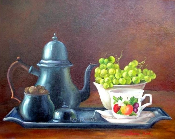 Tea with grape