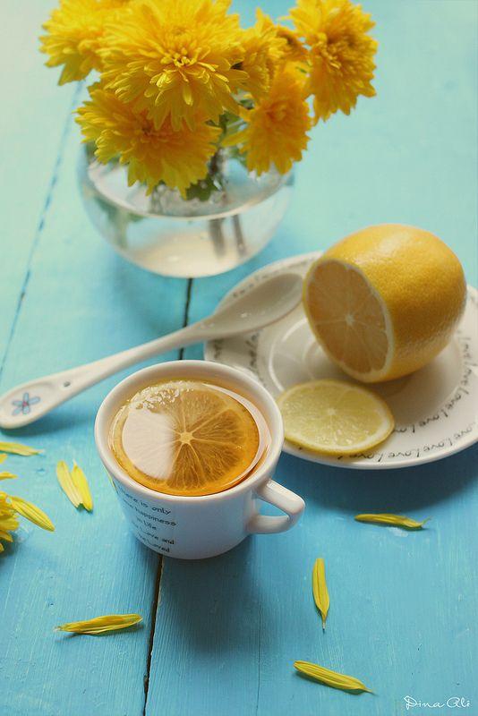 Доброе утро лимон картинки