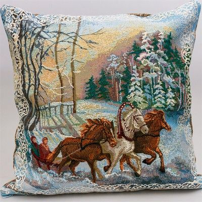 Decorative Tapestry Throw Pillows : Troika Decorative Tapestry Throw Pillow Tapestries & Tapestry Pillo?