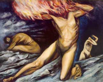 Prometeo (1944) by José Clemente Orozco