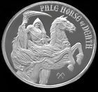 PALE HORSE OF DEATH 1 OZ SILVER ROUND - FOUR HORSEMEN OF THE APOCALYPSE Take a look #fourhorsemen #deathhorse #paledeath