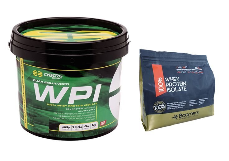 Getting enough protein daily is essential to maintain lean muscle mass. Taking a protein supplement can help.   This protein pack contains contains:  *Boomers Whey Protein Isolate (400g): an unflavoured protein powder  Cyborg Enhanced WPI Protein Powder (1.5kg): a milkshake flavoured protein powder  Both protein contain 26-30g protein per scoop/serve & are low in fat + carbohydrates.  #protein #proteinpowder #muscle #bariatric #bariatricsurgery #wls #weightloss #weightlosssurgery #vsg…