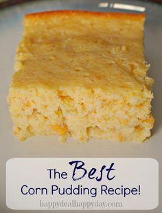 100+ Corn Pudding Recipes on Pinterest | Corn pudding casserole, Corn ...