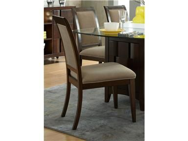 Shop for Liberty Furniture Uph Side Chair (RTA), 484-C6501S, and other Dining Room Chairs at Stacy Furniture in Grapevine, Allen, Plano, TX. Modern styling creates excitement and energy with one's imagination. Saxton captures the essence of contemporary design with straight lines and shaped wood overlays.