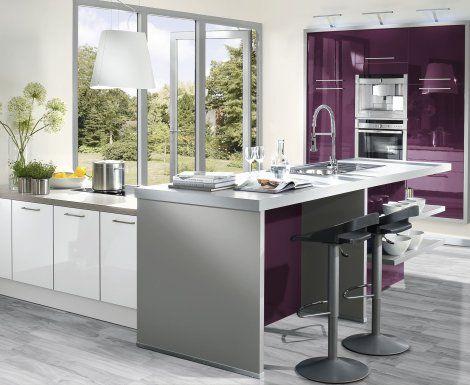 Moderní designová kuchyně Luna Nova. Kuchyně a spotřebiče jedné značky - gorenje. #kuchyně #design #interiér #domov #gorenje