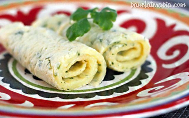 PANELATERAPIA - Blog de Culinária, Gastronomia e Receitas: Receita de Crepioca