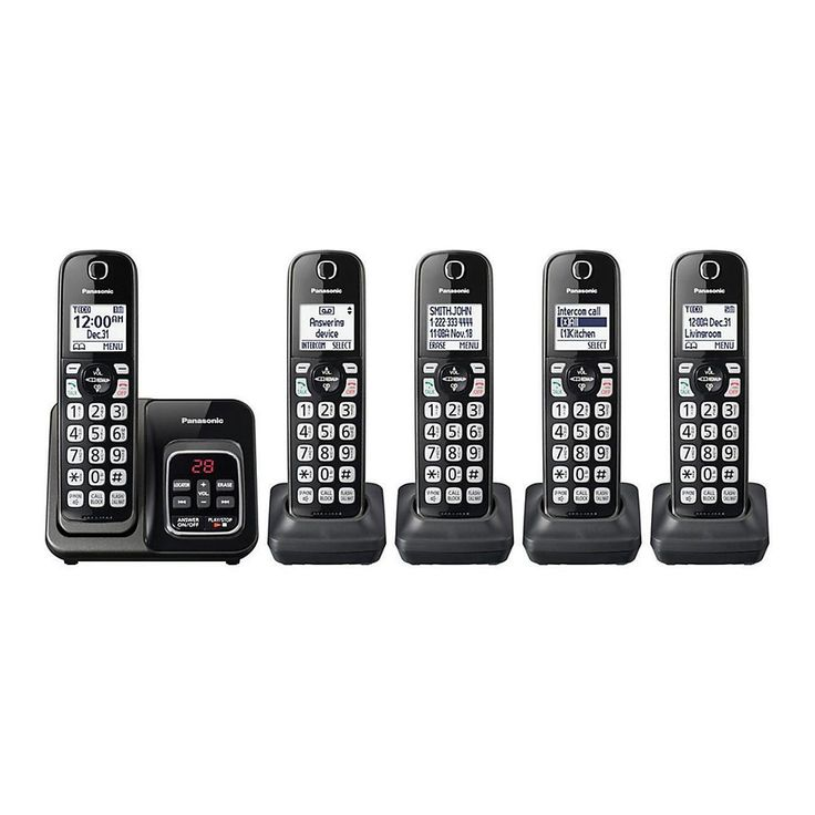 4-Pack Vtech DS6101 2-Line Cordless Additional Handset for DS6151 Phone