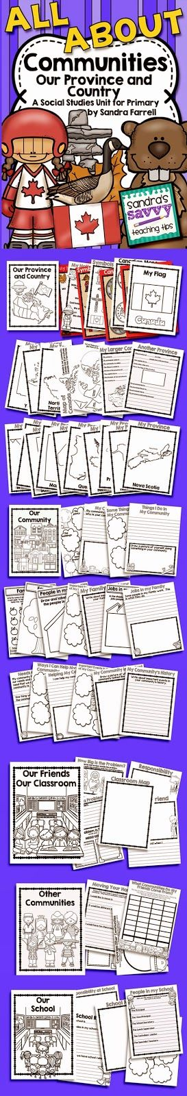 New Social Studies Unit for Grade 2 - My Community