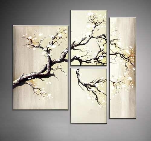 Cuadros Decorativos Modernos Tripticos Sobre Bastidor - $ 680,00 en MercadoLibre