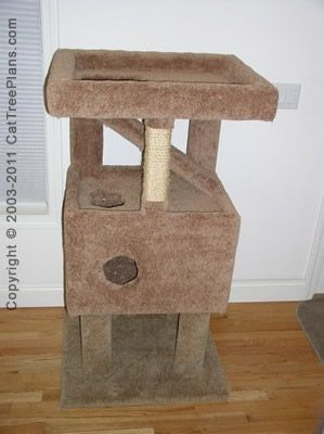 17 best images about diy cat tree plans on pinterest for Cat tree blueprints
