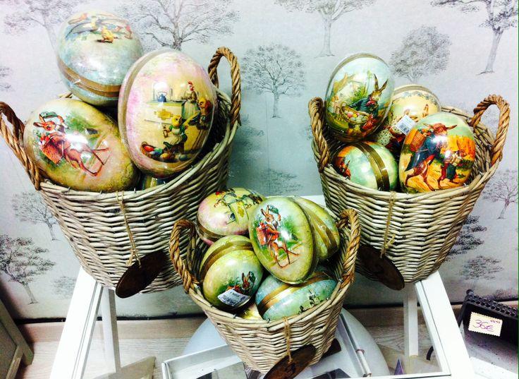Huevo de Pascua Nostalgic Hares