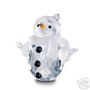 Swarovski Crystal Figurines | Swarovski Crystal Figurine #250229, Snowman, Retired