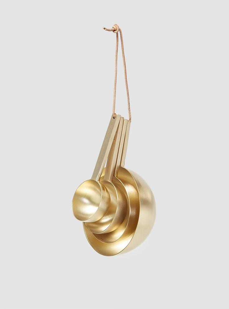 Brass Measurement Spoons Brass