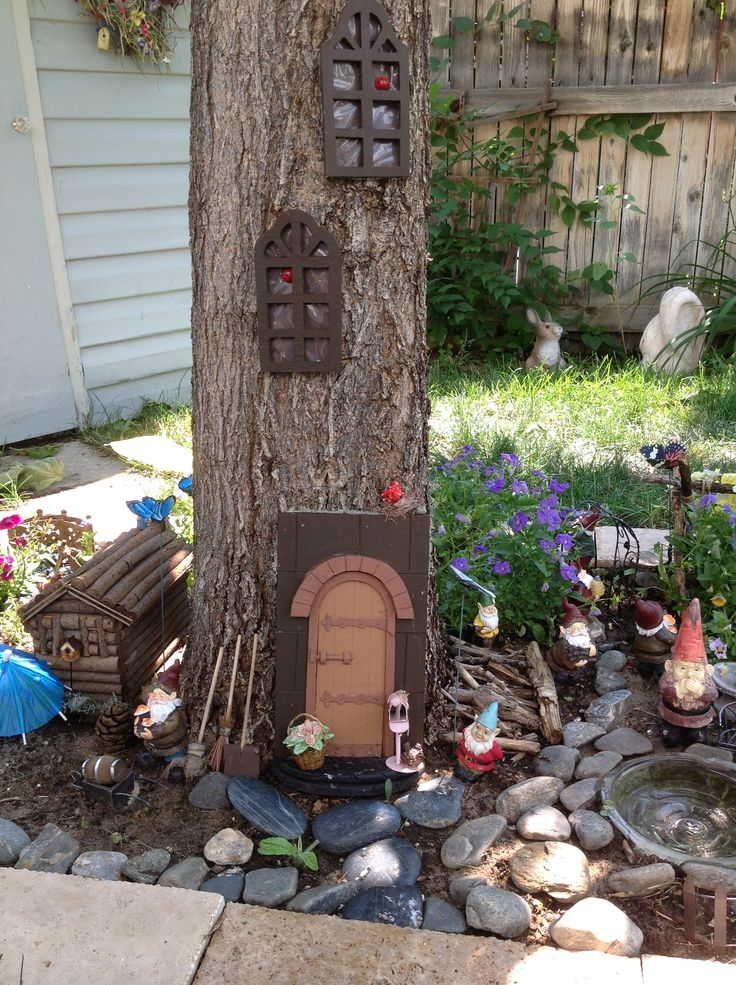 Gnome Garden: 17 Best Images About Fairy/Gnome Village Ideas On