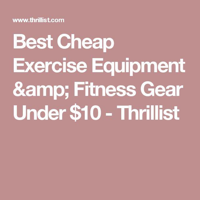 Best Cheap Exercise Equipment & Fitness Gear Under $10 - Thrillist