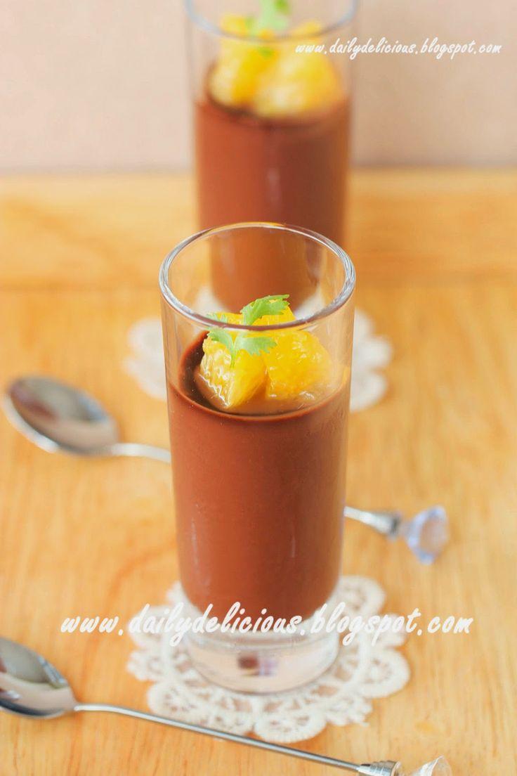dailydelicious: Quick Fix Desserts: Orange chocolate cream