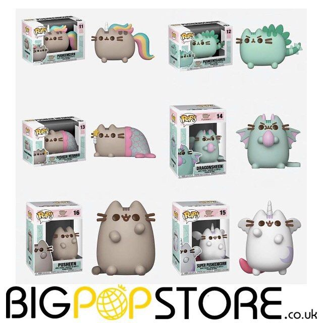 00af0bfd373 #Funko first look: heres the whole #pusheen #funkopop wave - #cute coming  soon bigpopstore.co.uk