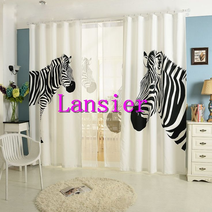 1000+ Ideas About Zebra Curtains On Pinterest