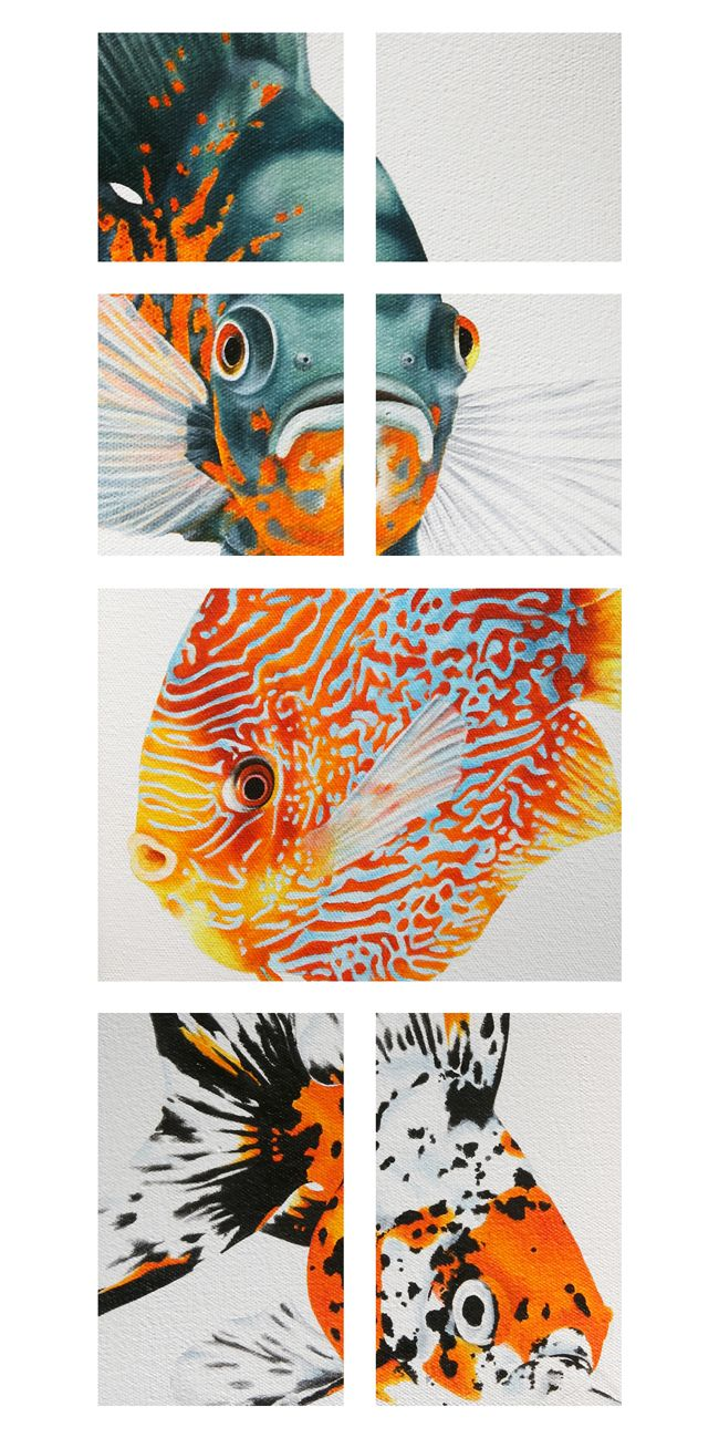 iStore Exhibition Invite Oil on Canvas
