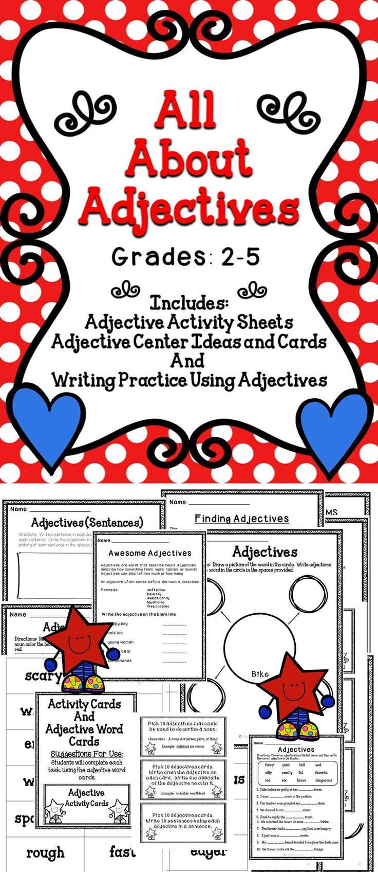 25+ best ideas about Adjectives with a on Pinterest | English ...
