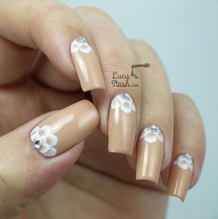 47 best Pretty Wedding Nails. images on Pinterest | Wedding nails ...