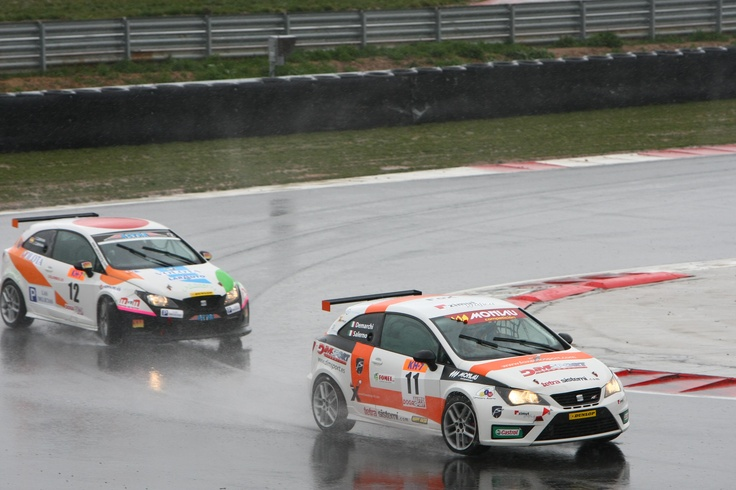 Luca Demarchi - Alfredo Salerno (SEAT Ibiza SC Trophy) Jorge Cabezas - Ignacio Cabezas (SEAT Ibiza SC Trophy)