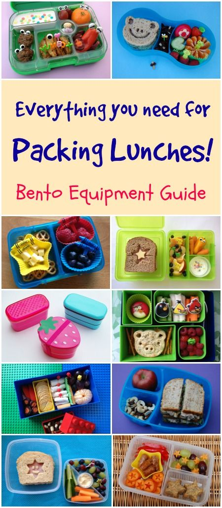 Eats Amazing - round up of UK lunch box recommendations for packing bento lunches plus where to buy bento accesories and equipment in the UK...