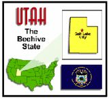 Utah State Unit Study - Geography, State Symbols & Facts