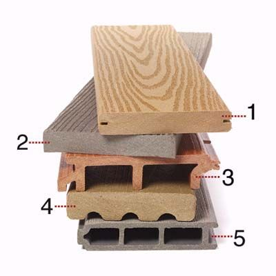 Composite deck flooring comes in a variety of profiles: some easier to install, some lighter, some both. Here's how to choose the one that's right for you. | Photo: Ted Morrison | thisoldhouse.com