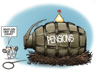 Warning to All Police, Firefighters, School Teachers: Most Gov't Pensions to be Confiscated Within a Decade   Economy