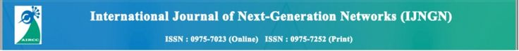 "International Journal of Next-Generation Networks (IJNGN)  ISSN: 0975-7023 Online); 0975-7252 (Print)  http://airccse.org/journal/ijngn/sicfp.html    Call for Paper    Special Issue on : ""Internet of Things and Smart Computing""    Guest Editors:    Thyagaraju G S,  SDM Institute of Technology,  India     Latha C A,  Global Academy Of Technology (GAT),  India    Theme and Scope :     This SI focuses on all technical and practical aspects of Internet of Things (IoT). The Internet of Things is…"
