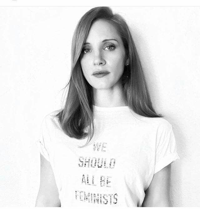 Jessica Chastain, brains and beauty
