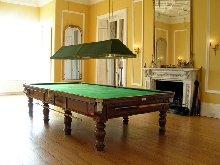 A Full Size Snooker Table