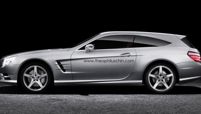 Mercedes SL Shooting Brake 2