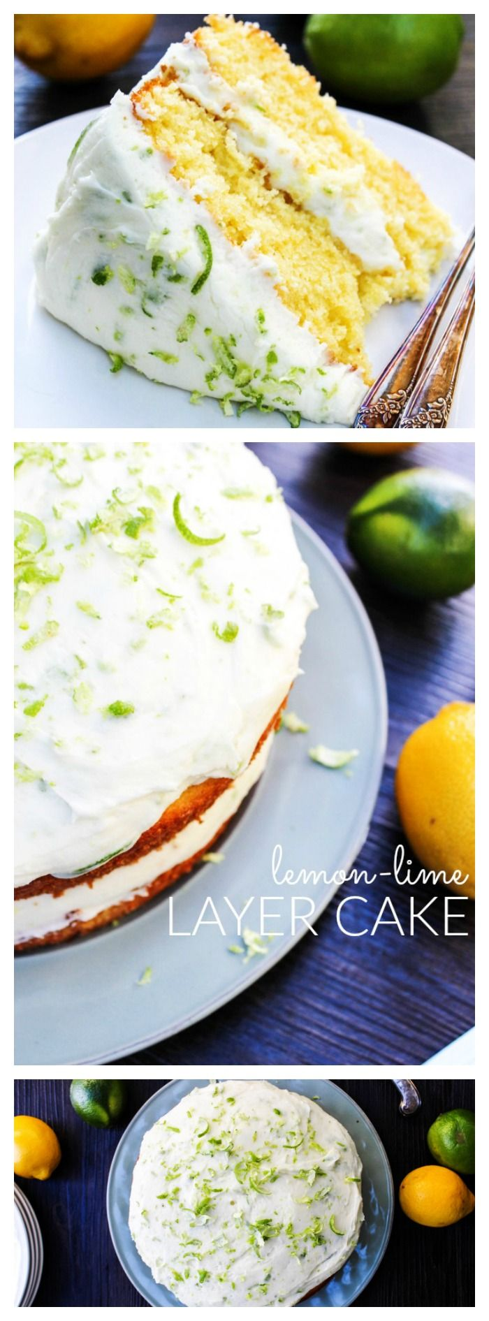 Lemon-Lime Layer Cake - LONG PIN